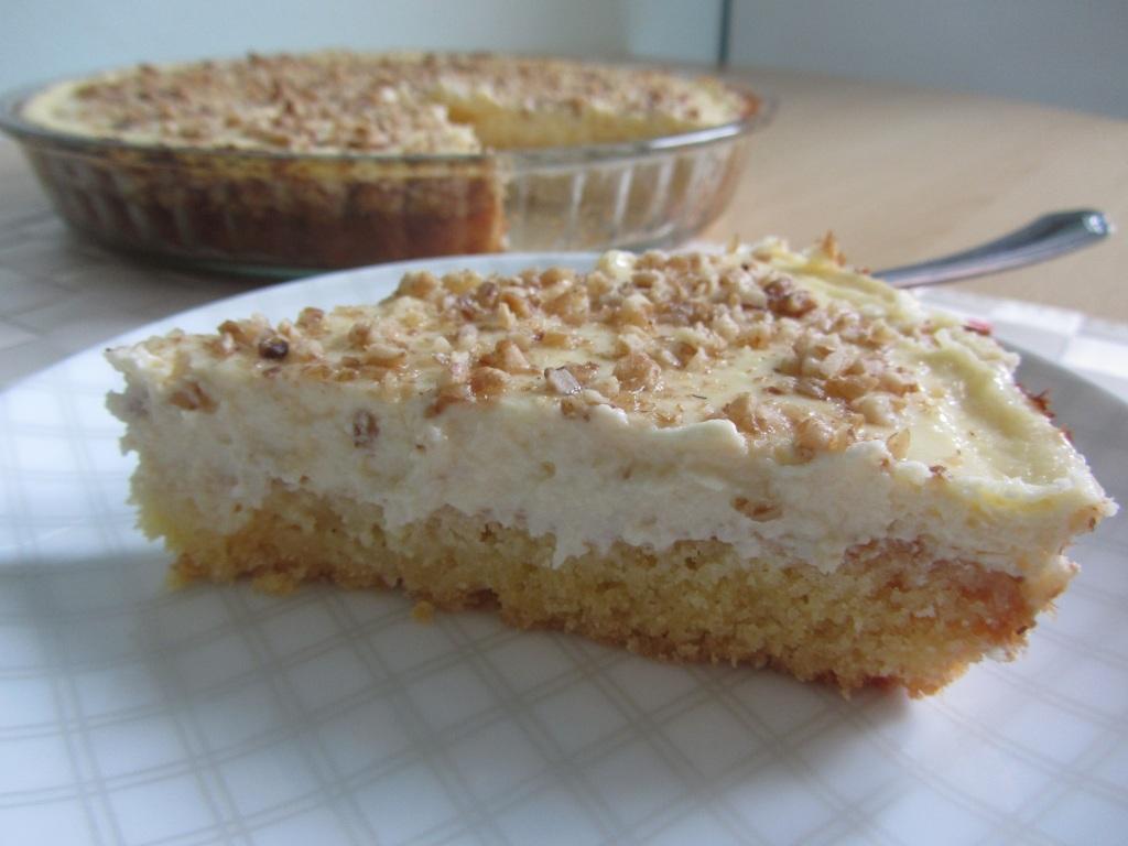 Řecký tvarohový koláč