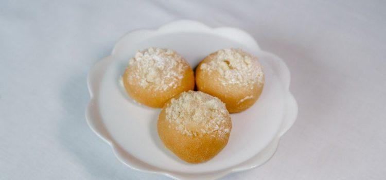 Tvarohové svatební koláčky